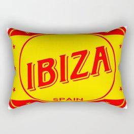 Ibiza, circle Rectangular Pillow