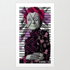 Pantone 7/10 = Rita Levi Montalcini Art Print