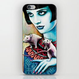Diana and the Rats iPhone Skin