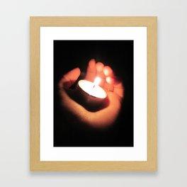 Little Light 2 Framed Art Print