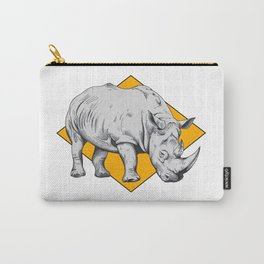 Rhino Yellow Carry-All Pouch