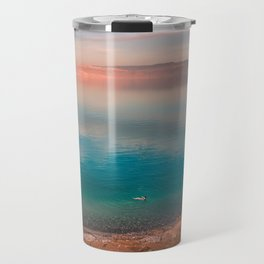 Floating in the Dead Sea Travel Mug