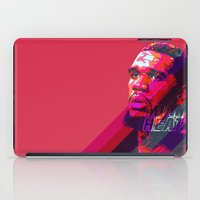 greg guillemin iPad Cases featuring GREG ODEN MIAMI HEAT by mergedvisible