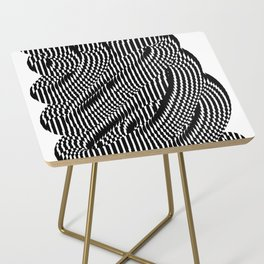 Op Art #1 Side Table