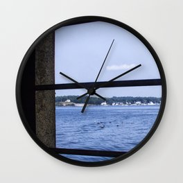 View From the Fort Wall Clock