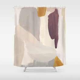 Plumb Crazy Shower Curtain