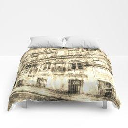 Victorian London Vintage Comforters