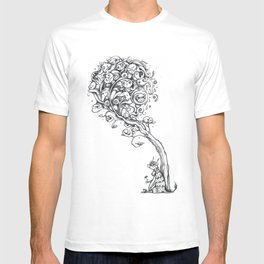 The Story Of Ferdinand (Psychedelic Bull Drawing) T-shirt