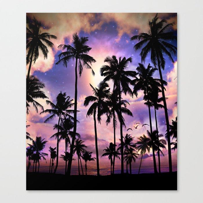 Smell the Sea Feel the Sky Canvas Print