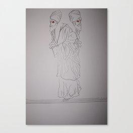 PHARISEES Canvas Print