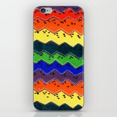 Anonymous rainbow iPhone & iPod Skin