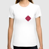 coachella T-shirts featuring ornament red pink by Alexandr-Az