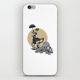 Brasstone iPhone Skin