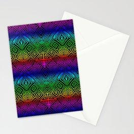 Tribal Rainbow Stationery Cards