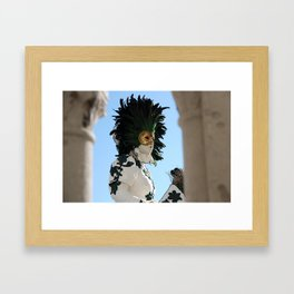 Do they really see me?  Framed Art Print