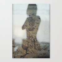 middle earth Canvas Prints featuring Middle Earth by Karen