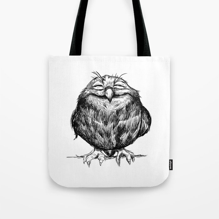 Owl Ball Tote Bag