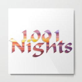 1001 Nights Metal Print