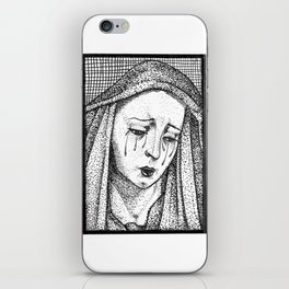Crying Virgin iPhone Skin