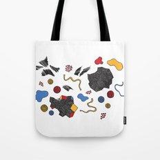 doodle conversation Tote Bag