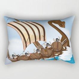 The Vikings Rectangular Pillow