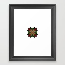 untitled star Framed Art Print