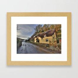 Old Maids Cottage  Framed Art Print