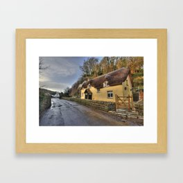 Old Maids Cottage  Framed Art Print