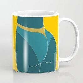 TTAN LINESS - Summer, Illustration, Booty, Cheeky, Fun, Cute Coffee Mug