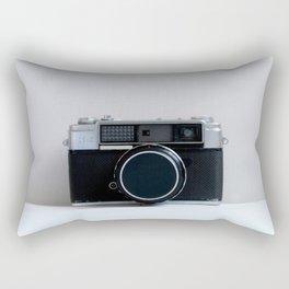 Oh Snap! Vintage Camera Rectangular Pillow