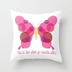Vuela alto! Throw Pillow