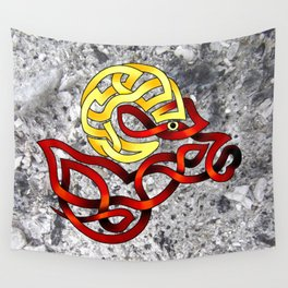 Ram's Head Knot Wall Tapestry