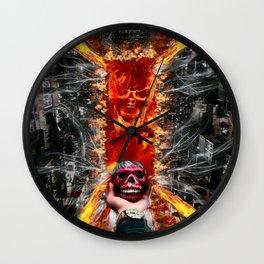 Devil Calavera by GEN Z Wall Clock