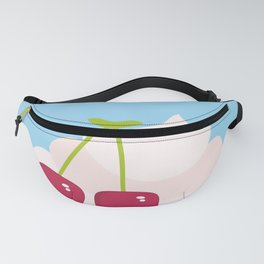 Hello Summer Kawaii cherry smoothie Fanny Pack
