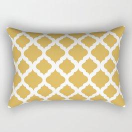 Yellow rombs Rectangular Pillow