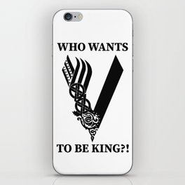 Who wants to be king?! iPhone Skin