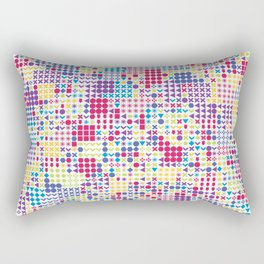 Fun Pattern Rectangular Pillow