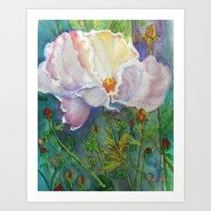 Beautiful Flower Art Print