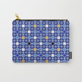 Persian Block Sky Carry-All Pouch