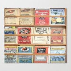 American Rail Brochures, Steamship Lines & More! Canvas Print