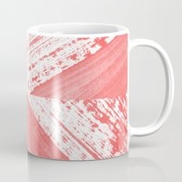 coral Mugs featuring CORAL by LEEMO