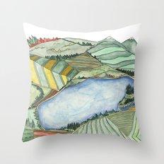 Landscape Print 2 Throw Pillow