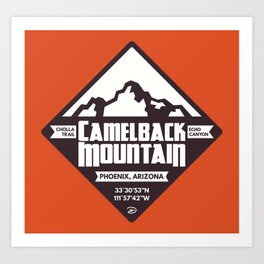 Camelback Mountain Art Print