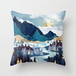 Valley Sunrise Throw Pillow