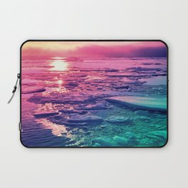 Pastel Sunset Waters Laptop Sleeve