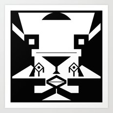 0001 Art Print