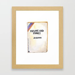 Franny and Zooey Framed Art Print