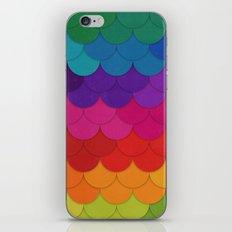 Rainbow Scallops iPhone Skin