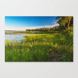 Isle La Motte Canvas Print