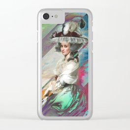 A Restless Heart Clear iPhone Case